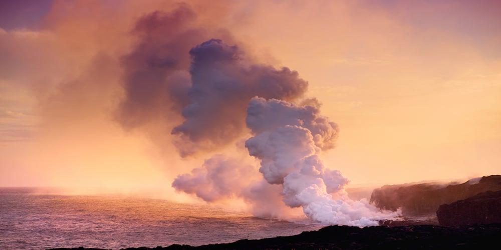 an example of a Hawaii volcano